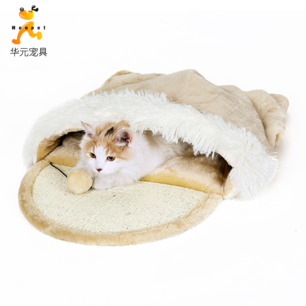 Hoopet Pet Currently Available Manufacturers Direct Selling Cat Climbing Frame Cat Teaser Toy Sisal Claws Grinding Cat Toy Cat N