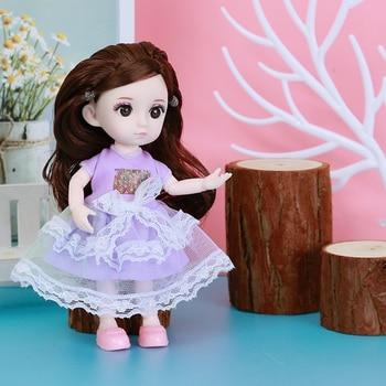Одежда для шарнирных кукол 16 см. 2