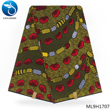 LIULANZHI african Dutch fabric hot print wax fabrics dutch batik 6yards ankara ML9H1701-ML9H1727