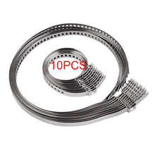 10PCS Universal Drive Shaft CV Boot Clamp Kit Adjustable AXLE CV Joint Boot Crimp Clamps Kits 31- 41mm 70- 125mm 5 Small 5 Big