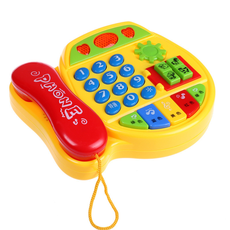 Bel Educational Phone 5029 Children ENLIGHTEN Music Phone Toy Educational Learning Toy
