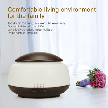 300ML Household Humidifier Timing Mute Remote Control Aromatherapy Machine Desktop Air Purifier Bedroom Ultrasonic Atomizer free shipping parts new air humidifier domestic large capacity humidifier humidification mute office mini aromatherapy timing