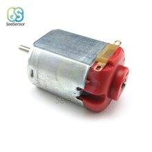10 шт. DC 3-6 в 0,35-8000 a об/мин R130 мини микро двигатель постоянного тока для DIY игрушки хобби умный автомобиль