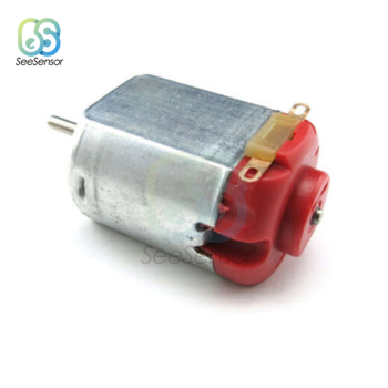 10Pcs DC 3-6V 0.35-0.4A 8000RPM R130 Mini Micro DC Motor for DIY Toys Hobbies Smart Car image