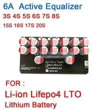 6A 3S 4S 5S 6S 7S 8S 10S 13S 14S 16S 17S 20S פעיל אקולייזר איזון Lifepo4 ליתיום Lipo LTO סוללה אנרגיה העברת לוח BMS