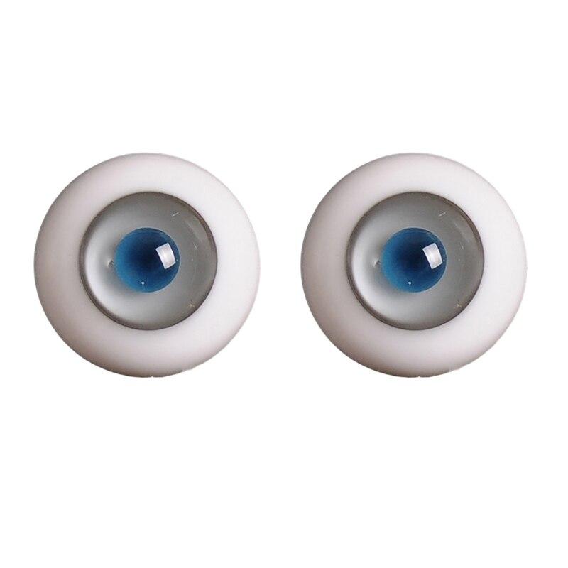 14mm 1/3 1/4 Doll Glass Eyes Doll Accessories Glasss Doll Eyeball 15