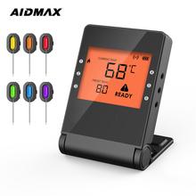 AidMax PRO04 gotowanie żywności Bluetooth bezprzewodowy Grill termometr sondy i zegar do piekarnika mięso Grill darmowa aplikacja sterowania tanie tanio Czujnik temperatury CN (pochodzenie) PRO05 120 ° C i Powyżej DIGITAL Gospodarstwa domowego Rohs Zużytego sprzętu elektrycznego i elektronicznego