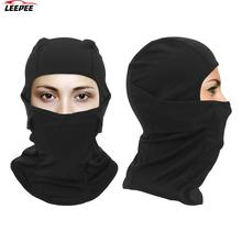 Hat Balaclava-Face-Mask Headwear Bike Motocross Full-Cover Bicycle Sport-Caps Integrated