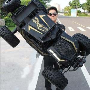 Coche a control remoto ultra grande 4x4 4 4WD 2,4G de alta velocidad Bigfoot 1:8 50cm, juguete de regalo para escalada de coches todoterreno