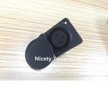 Гнездовой разъем XLR/Разъем 10 шт. для аккумулятора электровелосипеда может сварить аккумулятор электровелосипеда DIY батарея для электровелосипеда запасная часть/Пыленепроницаемость