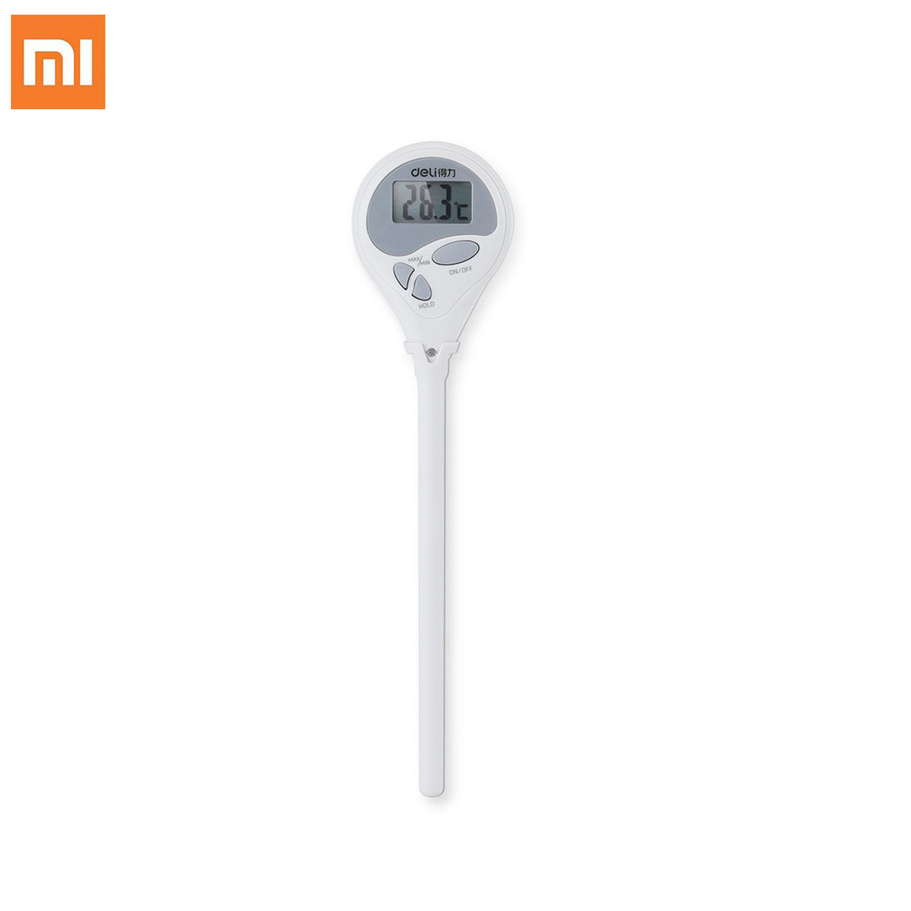 Xiaomi Thermograph 304 Stainless Steel Kitchen Digital LCD Food Thermometer Food Milk BBQ Dinning Household Cooking Thermometer