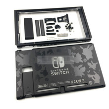 DIY New Housing Case Shell Replacement Case With Pikachu  Logo For Switch Console Repair Parts