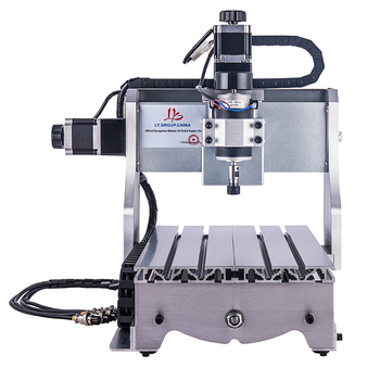 Mini CNC router 3020 Z-D 300W 4axis milling machine desktop wood engraving machine 2