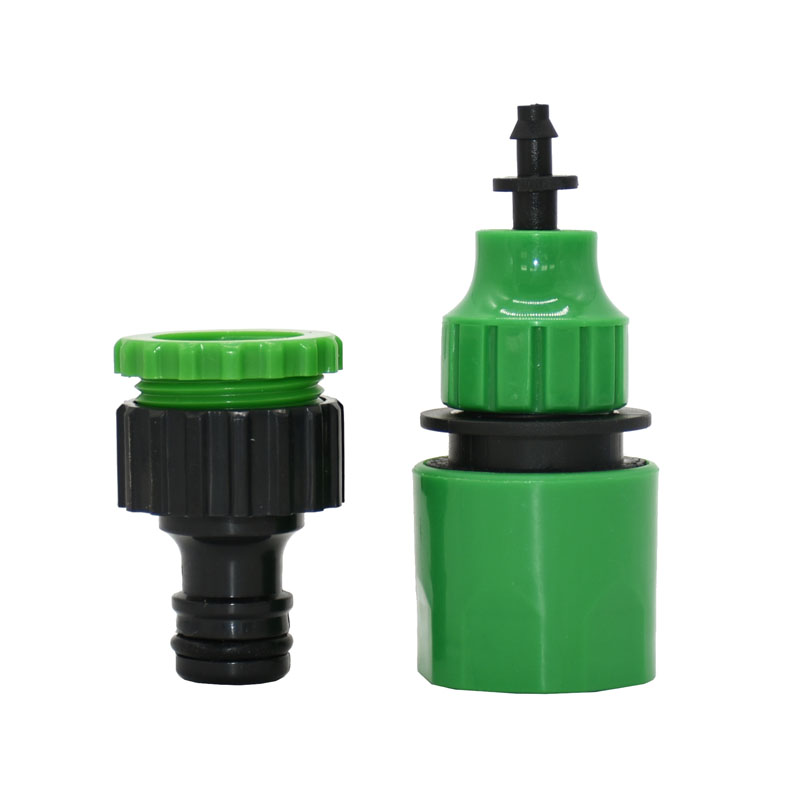 1/4 Inch Garden Hose Water Quick Connector To 1/2 3/4 Male 3/8