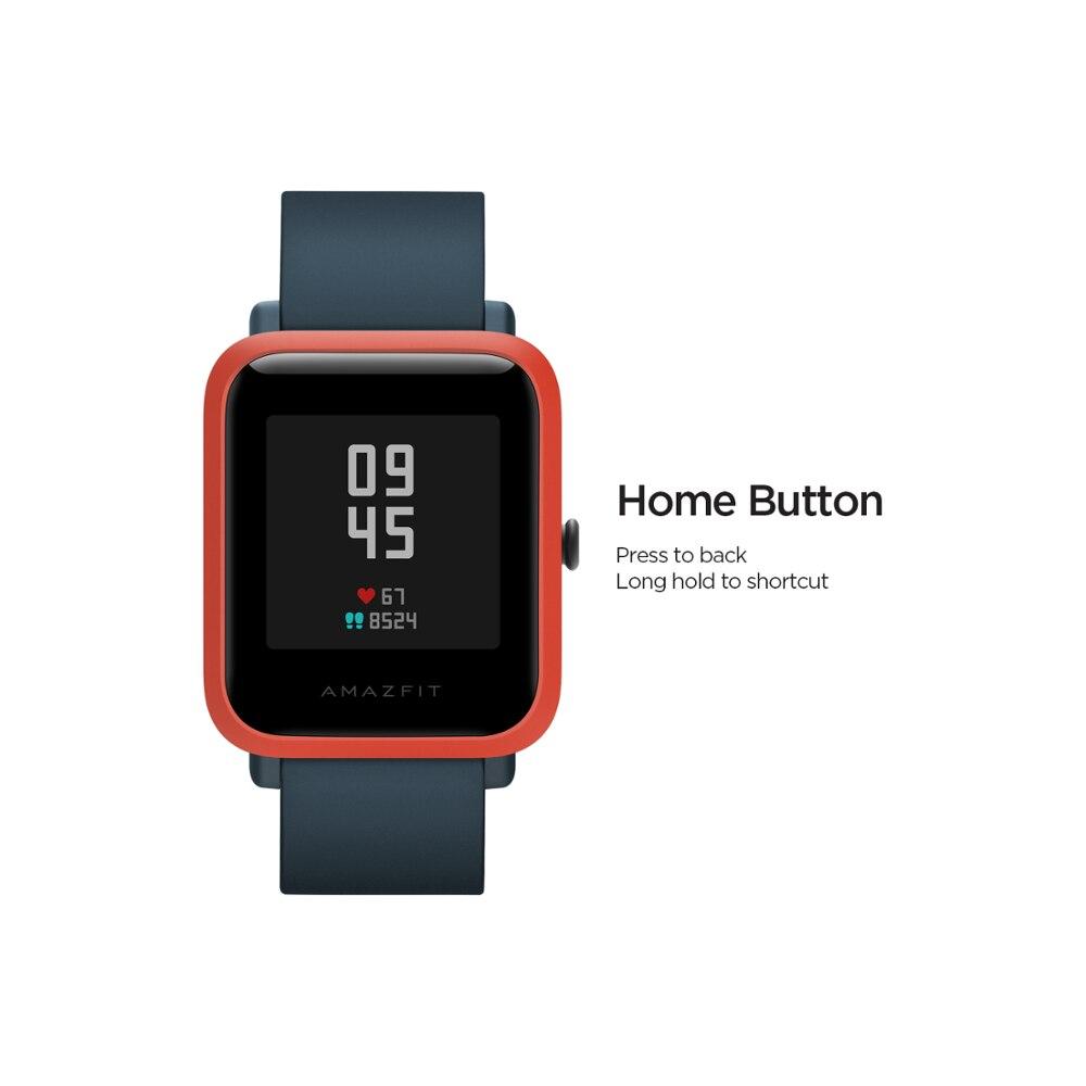 В наличии 2020 Global Amazfit Bip S Smartwatch 5ATM водонепроницаемые встроенные GPS GLONASS Bluetooth Смарт-часы для Android iOS Phone-1