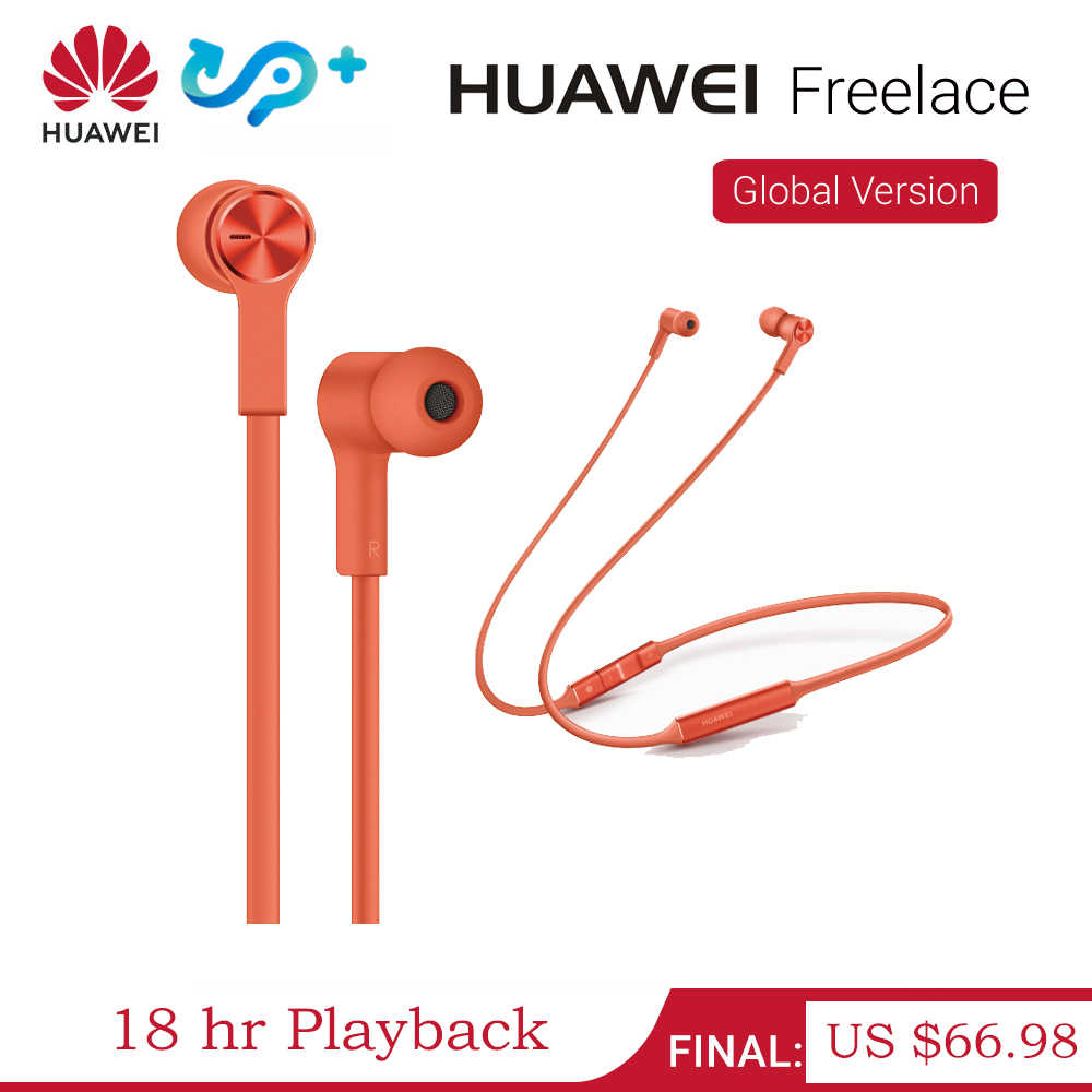 Huawei Freelace Bluetooth Earphone Wireless Headset Memory Cable Metal Cavity Ipx5 Fast Charging 18 Hr Playback Sport Earphones Aliexpress