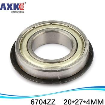 50pcs free shipping The high quality of ultra-thin deep groove ball bearings 61704ZZ 6704ZZ 20*27*4 mm