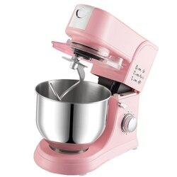 1000W 5.5L misa ze stali nierdzewnej 6-prędkość do kuchni do jedzenia mikser na stojaku krem trzepaczka do jajek Blender ciasto chleb mikser maszyna do produkcji