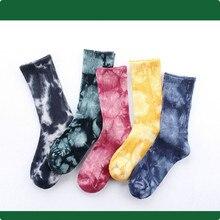 Модные мужские носки в стиле хип-хоп, мужские носки в Корейском стиле Харадзюку, уличная одежда для влюбленных, хлопковые носки высокого качества 248