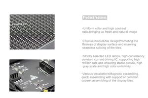 Image 5 - LYSONLED 40 pz/lotto P4 SMD Dellinterno di Colore Completo Ha Condotto il Modulo Display 256x128mm, 1/16 di scansione SMD2121 LED 64x32dots