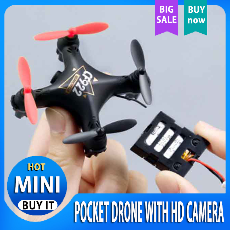 pocket cf922 drone Mini Quadcopter with HD Camera Rc WIFI FPV Rc racing Drone Helicopter DIY Assembly Toy remote control toys