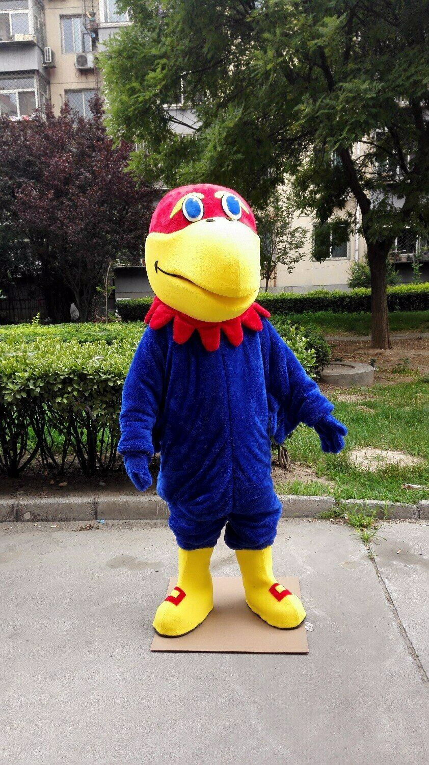 Hawk Mascot Costume Suit Cosplay Party Game Dress Outfit  Halloween Adult