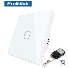 цена на Lovolo US/AU standard  Black pearl Crystal glass panel wirless remote home light switch