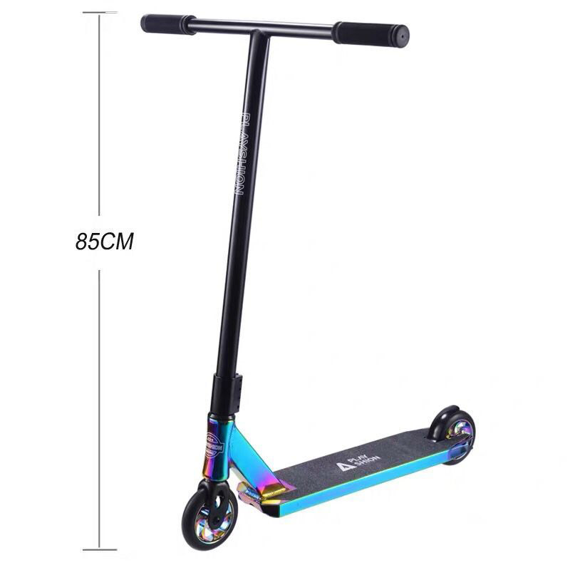 Rainbow Stunt scooter Pro Kick scooter high speed action scooter