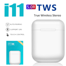Original i11 TWS Wireless Earphones Bluetooth Headset Invisible Earbuds for Smar