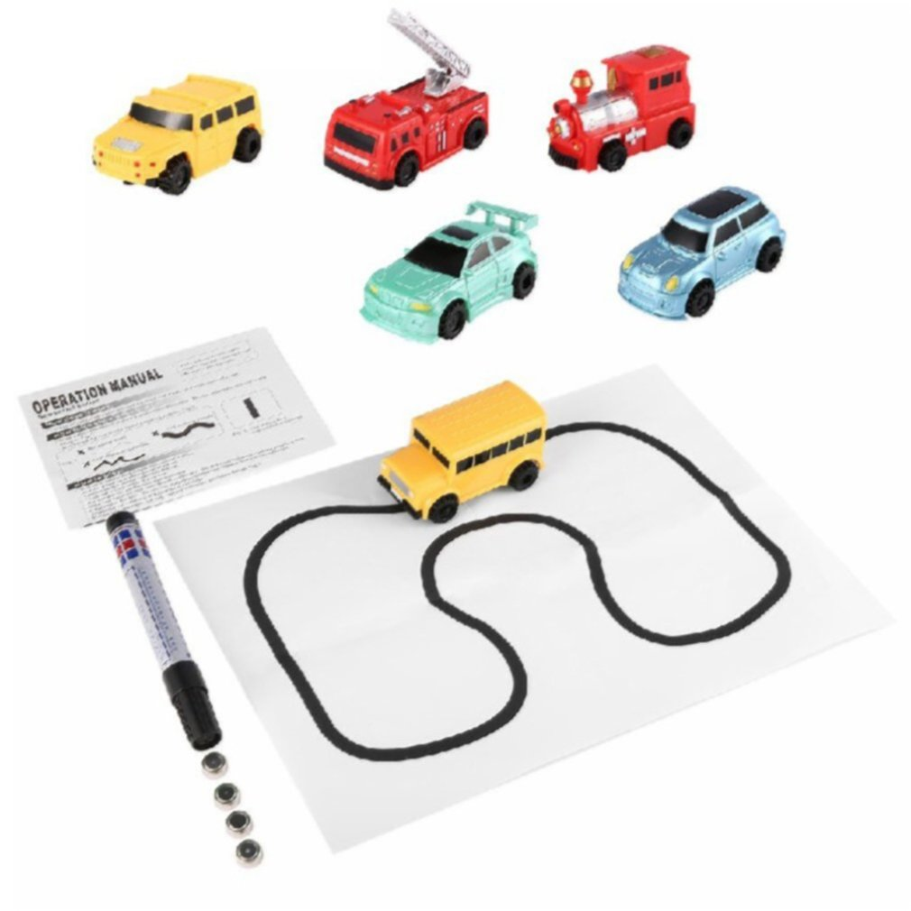 Children's Truck Toy Automatic Induction Truck Toy Marking Induction Engineering Vehicle Toy Induction Truck Toy