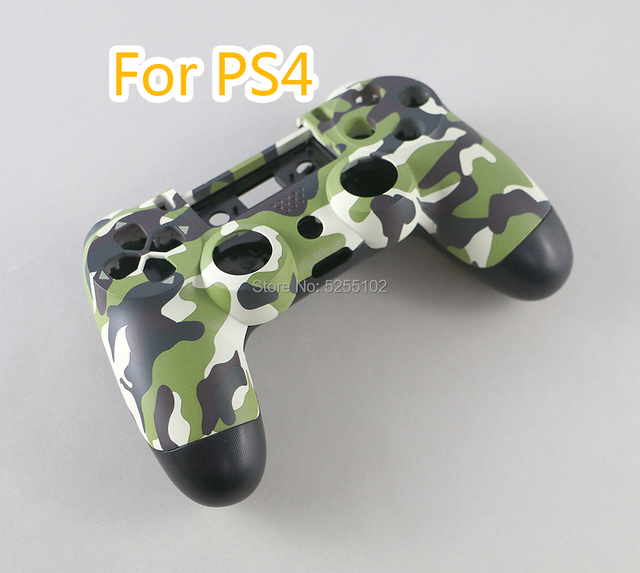 FOR PS4 JDS 001 011 Full Housing Controller Shell Case Cover Mod Kit button For Playstation 4 PS4 V1 Replacement Camouflage Camo