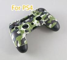 עבור PS4 JDS 001 011 מלא דיור בקר פגז מקרה כיסוי Mod ערכת כפתור לפלייסטיישן 4 PS4 V1 החלפה הסוואה Camo