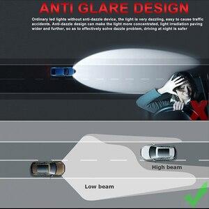 Image 3 - HLXG with Korea CSP chips H7 LED Bulb H4 Car Headlight Kit H11 H8 H9 Fog Lamp mini Headlamp Light 12V 9005 HB3 9006 HB4 LED H7