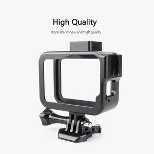 Image 2 - Vamson Vlog Aluminium alloy Housing Case for GoPro Hero 8 Black Vlogging Cage Frame Shell with Mic Cold Shoe Mount VP654