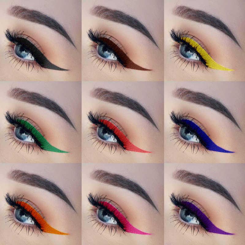 12 couleurs professionnel durable Eyeliner liquide naturel lisse Rose rouge Ogrange Eyeliner stylo facile à porter Eyeliner mat TSLM2