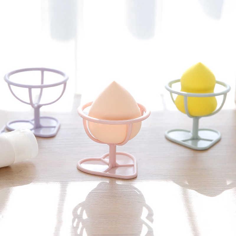 パフホルダー化粧品オーガナイザー棚ホルダーツールパウダーパフブラケットボックスメイクアップオーガナイザー美容パフスポンジディスプレイスタンド