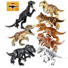 Jurassic World Dinosaur Character Building Block Tyrannosaurus Rex Assembly Building Block Children's Toy Dinosaur Christmas