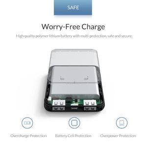 Image 3 - ORICO 5000mAh Mini Power Bank Portable Charging External Battery Slim Powerbank Poverbank 5000 mAh For iphone Xiaomi Smartphone
