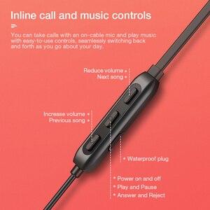Image 4 - SANLEPUS słuchawki bezprzewodowe 5.0 Bluetooth słuchawki douszne słuchawki sportowe uruchomione Stereo słuchawki douszne telefonu zestaw słuchawkowy dla Apple Android