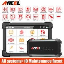 Ancel X7 OBD2 Scanner Professionele Alle Systeem Bluetooth Wifi Automotive Scanner Sas Epb Olie Reset Obd 2 Auto Diagnostische Hulpmiddelen