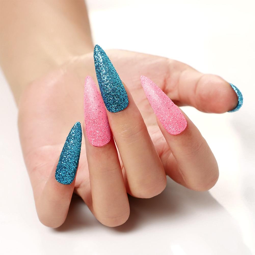 acrílico dicas cortador glitter para unha arte manicure