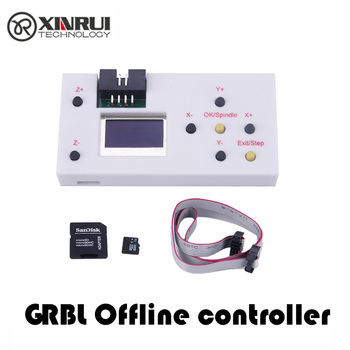 CNC Mini Laser Engraving Machine Offline Controller for 3018 2418 1610 DIY Engraver 1GB TF Card 3 Axis GRBL - discount item  35% OFF Machinery & Accessories