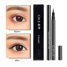 Quick Dry Eyeliner Pen Long-Lasting Waterproof Smudge-Proof Easy To Use Liquid Cosmetic