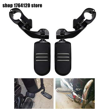 Motorcycle Engine Guard Highway Foot Pegs Footpeg Kits For Harley Touring Softail Sportster Electra Glide Road King Street Glide
