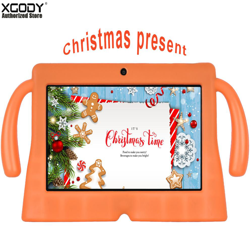 7 Inch Kids Tablet Children Learning Education Tablet Best Gift For Kids Android 8.1 Quad Core 1GB 16GB Tablet Computer