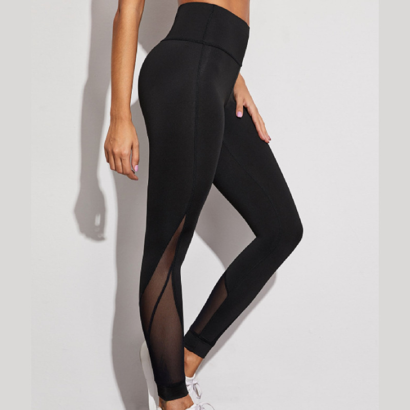 Quick-DryingSolid European And American Pants Women's Ultra-Stretch BottomingTight Slimming Fitness Ankle-LengthCasual Leggings