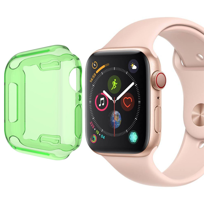 Watches Accessories Smart Watch Case For Apple Watch Series 4 Full Screen Protection Protevtive Cover Skin For iWatch 40/44mm