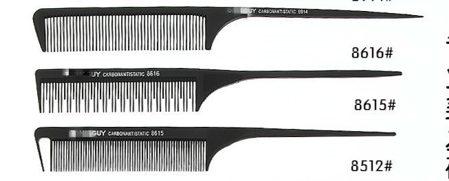 Image 3 - 30 Style Anti static Hairdressing Combs Detangle Straight Hair Brushes Barber Hair Cutting Comb Pro Salon Hair Care Styling Tool-in Combs from Beauty & Health
