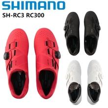 Nova shimano SH-RC300 rc3 rc300 fibra de vidro reforçado náilon inferior road bike bicicleta auto-bloqueio sapatos de ciclismo shoeslock