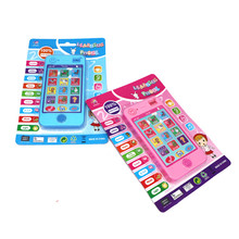 Russian Language Baby Mobile Phone Toys 6 12 18 Months Russian Alphabet Numbers Educational Smartphones for Baby Learning Toys